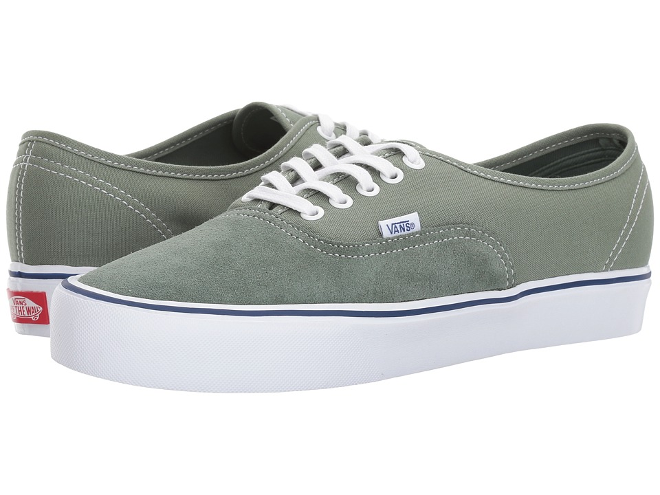 Vans Authentic Lite ((Throwback) Laurel Wreath/Sea Spray) Skate Shoes