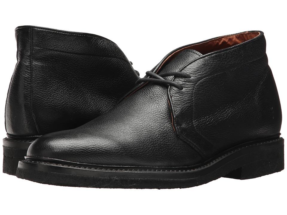 Frye Country Crepe Chukka (Black Deer Skin Leather) Men