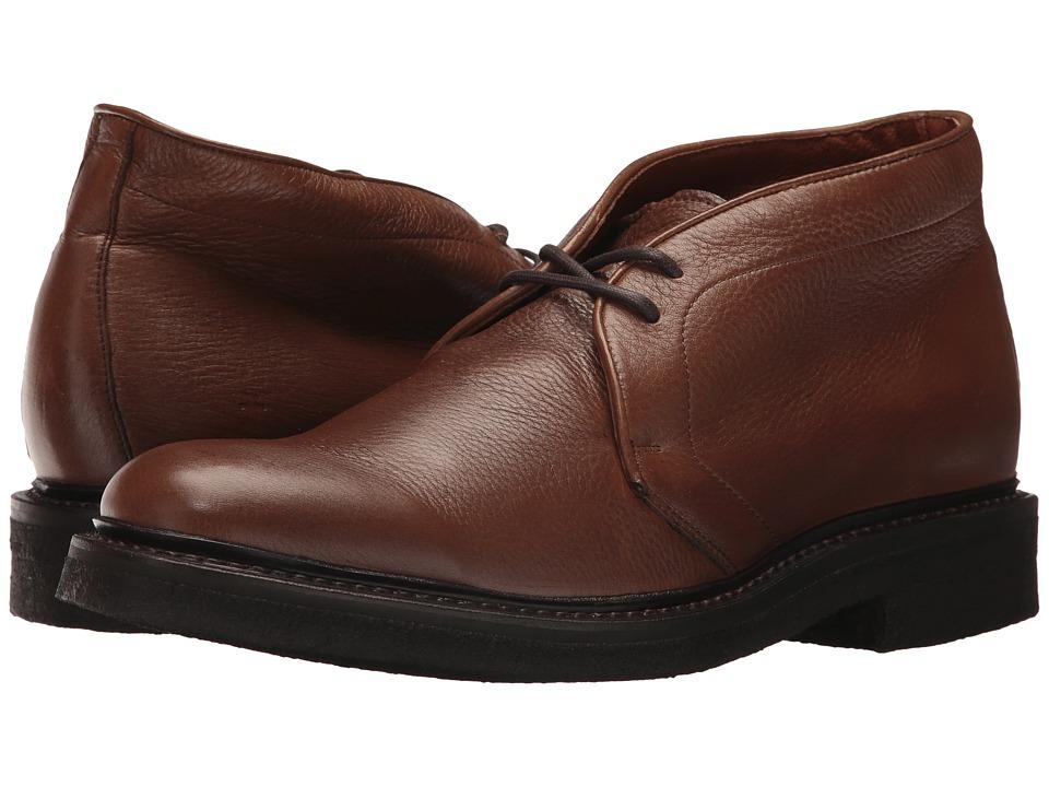 Frye Country Crepe Chukka (Cognac Deer Skin Leather) Men
