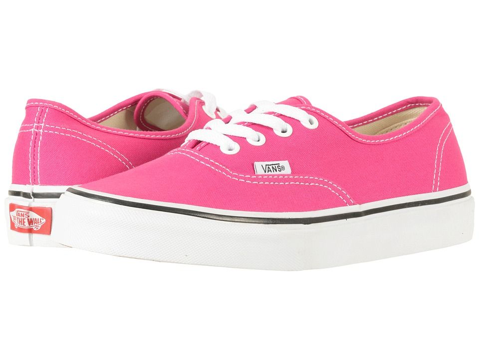 Vans Authentictm (Very Berry/True White) Skate Shoes