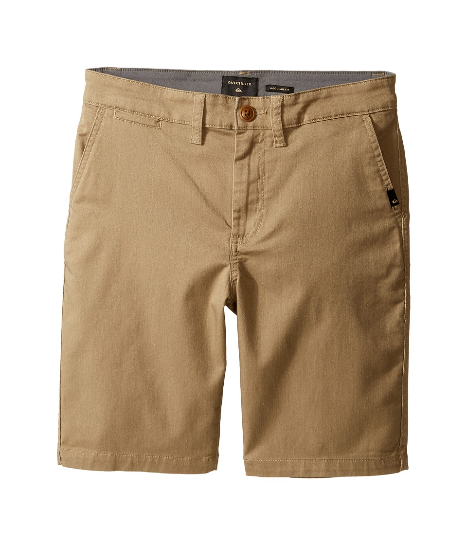 Quiksilver Kids - Everyday Union Stretch Walkshorts (Big Kids) (Elmwood) Boys Shorts
