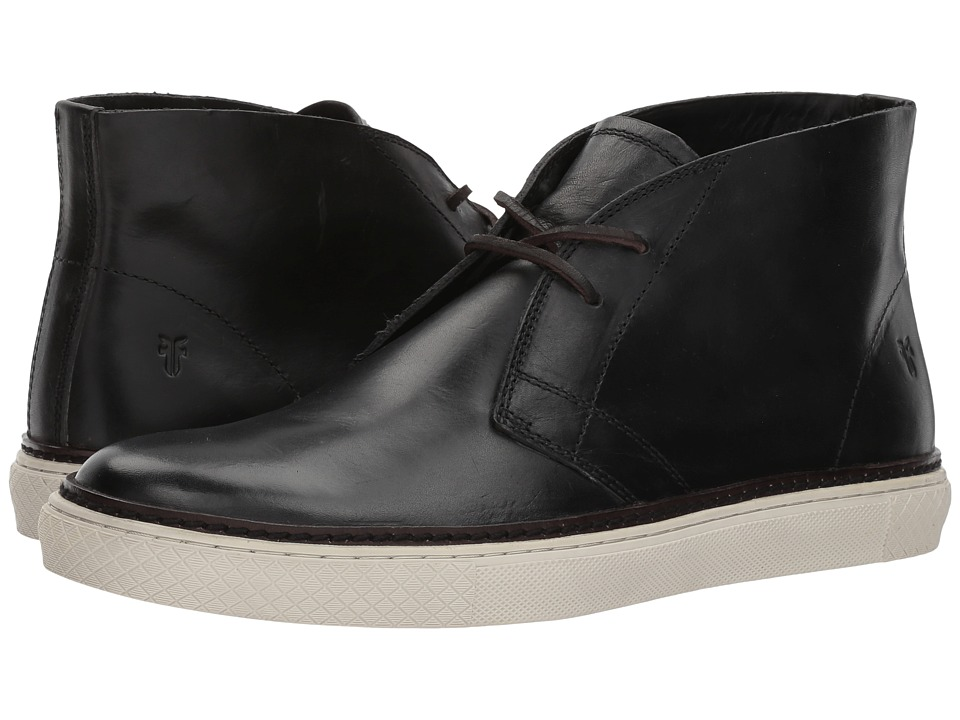 Frye Gates Chukka (Black Vintage Veg Tan) Men