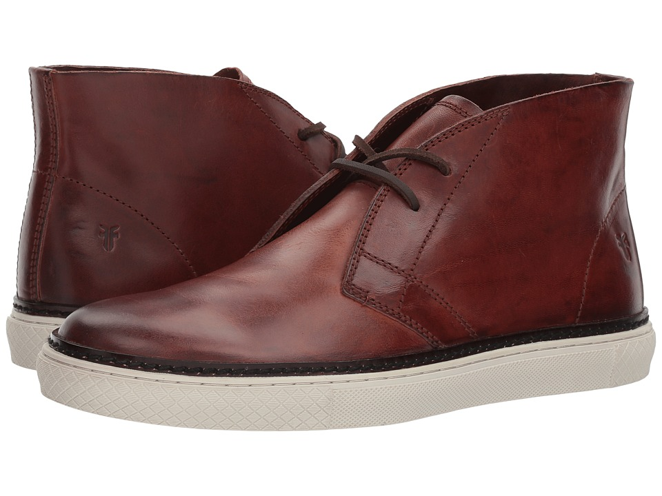 Frye Gates Chukka (Brown Vintage Veg Tan) Men