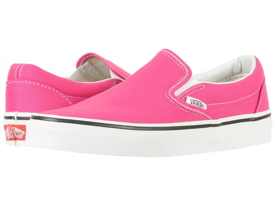 Vans Classic Slip-Ontm (Very Berry/True White) Skate Shoes