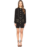 Pierre Balmain - Embellished Button Playsuit