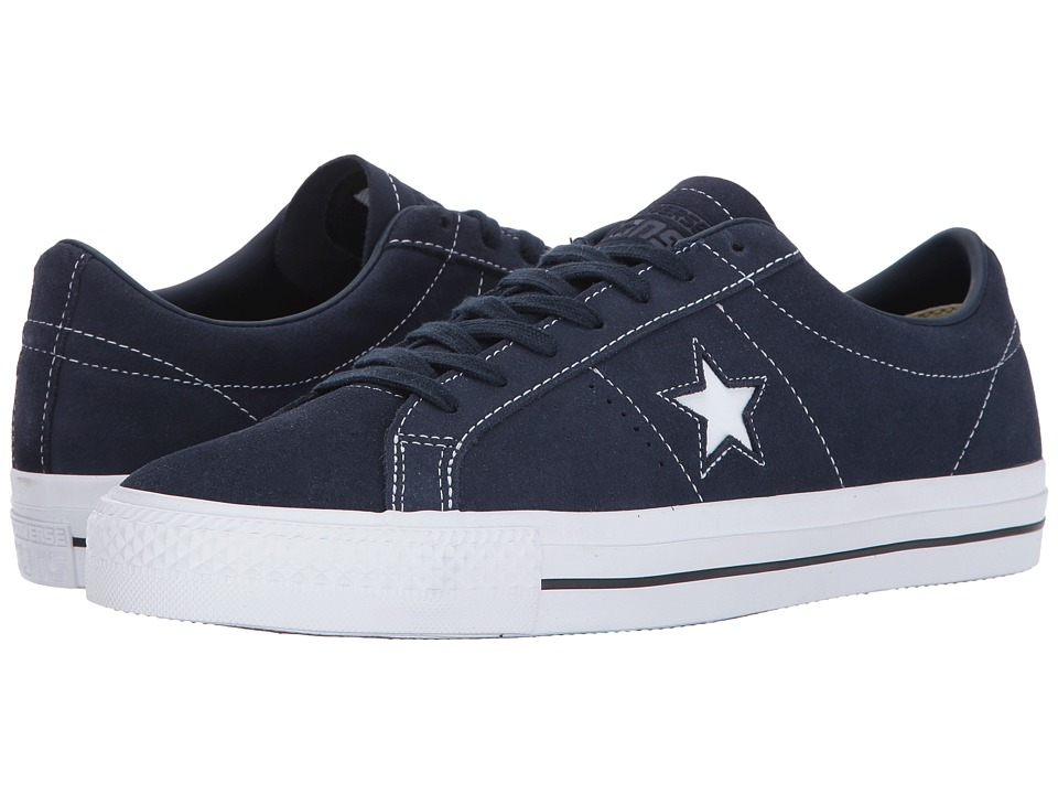 Converse Skate One Star Pro Ox (Obsidian/Obsidian/White) Men