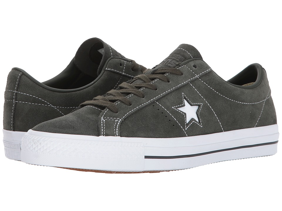 Converse Skate One Star Pro Ox (Sequoia/Sequoia/White) Men