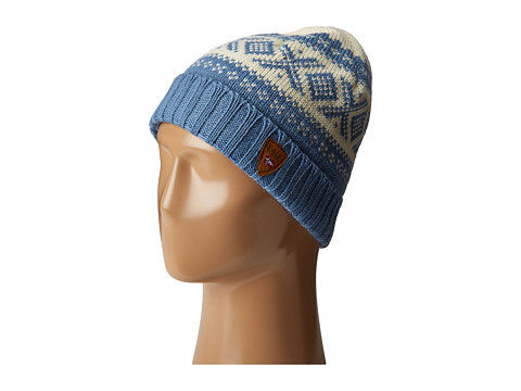 Dale of Norway Cortina 1956 Hat - Light Blue/Off White