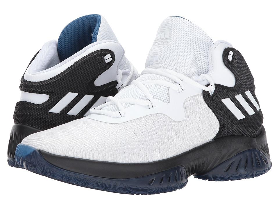 adidas Explosive Bounce (Core Black/Footwear White/Capital Blue) Men