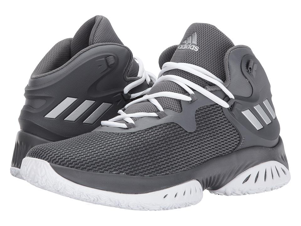 adidas Explosive Bounce (Core Black/Silver Metallic/Grey Five) Men