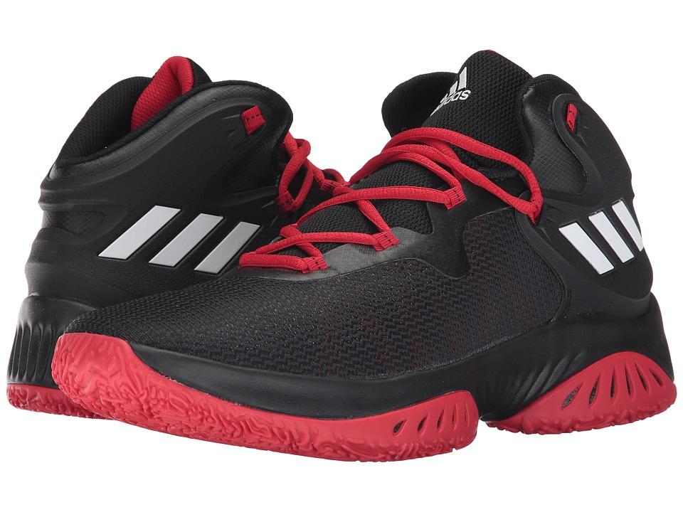 adidas Explosive Bounce (Core Black/Footwear White/Scarlet) Men