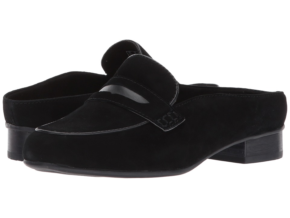 Clarks Keesha Donna (Black Suede) Women's Clog Shoes