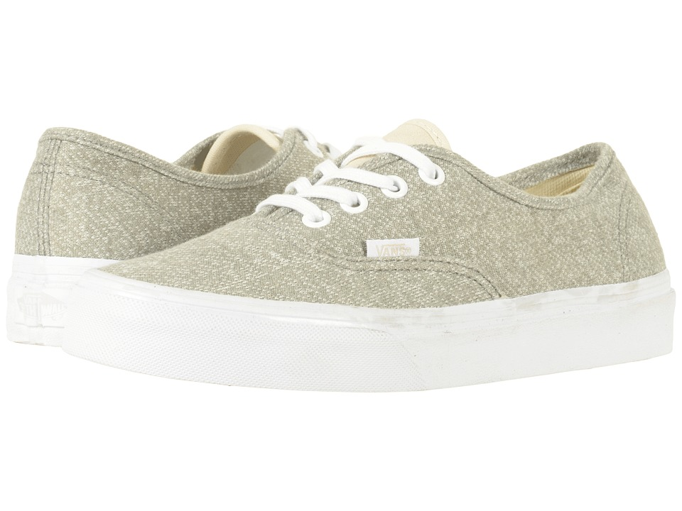 Vans Authentictm ((J&S) Frost Gray/True White) Skate Shoes