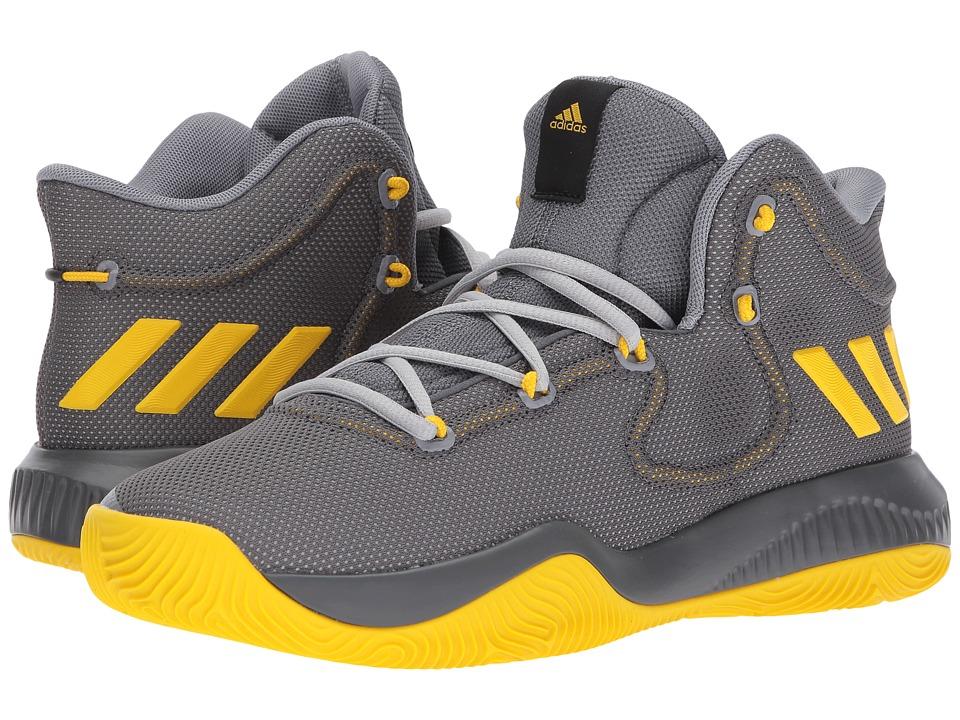 adidas Crazy Explosive TD (Grey Three/Eqt Yellow/Grey Two) Men