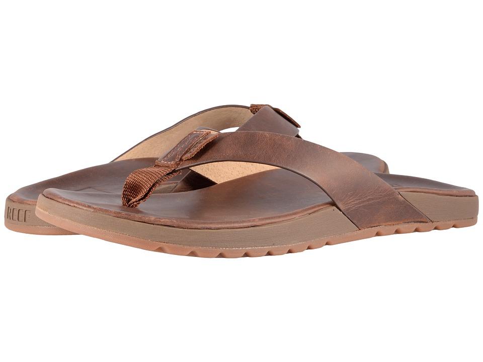 Reef - Contoured Voyage LE (Bronze Brown) Men's Sandals