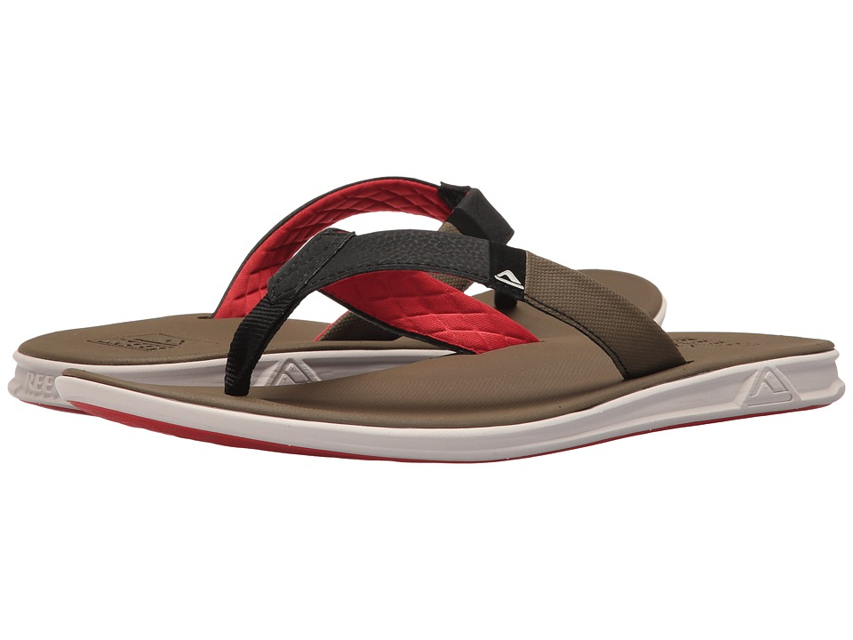 Reef Slammed Rover (Tan/Red) Men
