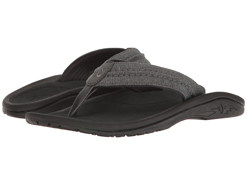 OluKai - Hokua Mesh (Dark Shadow) Men's Sandals