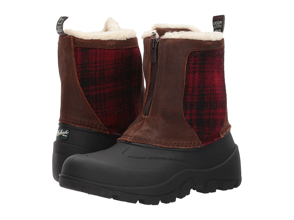 Woolrich Fully Wooly Icecat (Coconut/Red Hunting Plaid) Women
