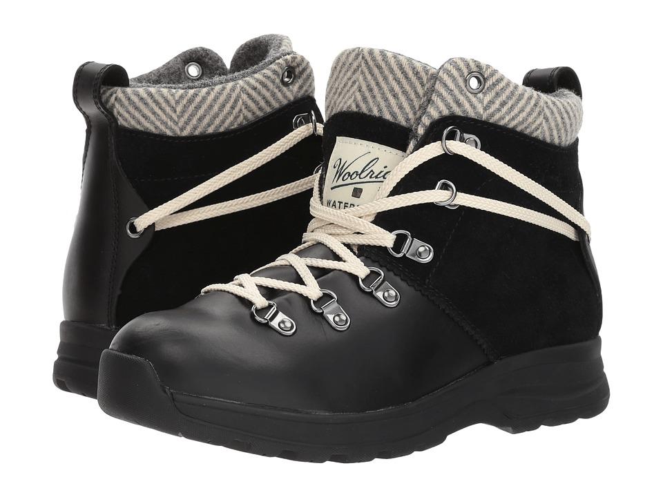 Woolrich Rockies II (Black/Herringbone) Women