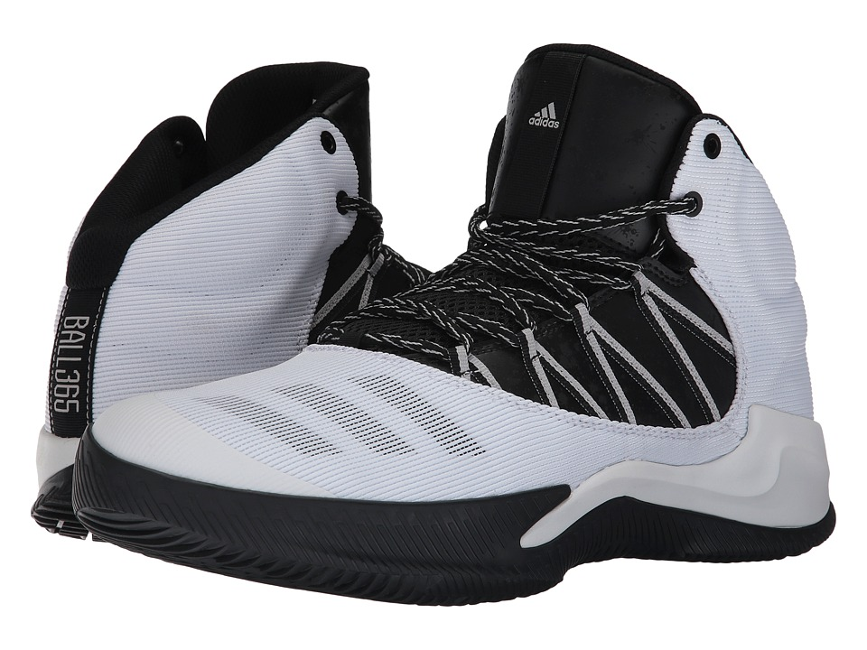 adidas - Infiltrate (Footwear White/Core Black/Grey Two) Men's Basketball Shoes