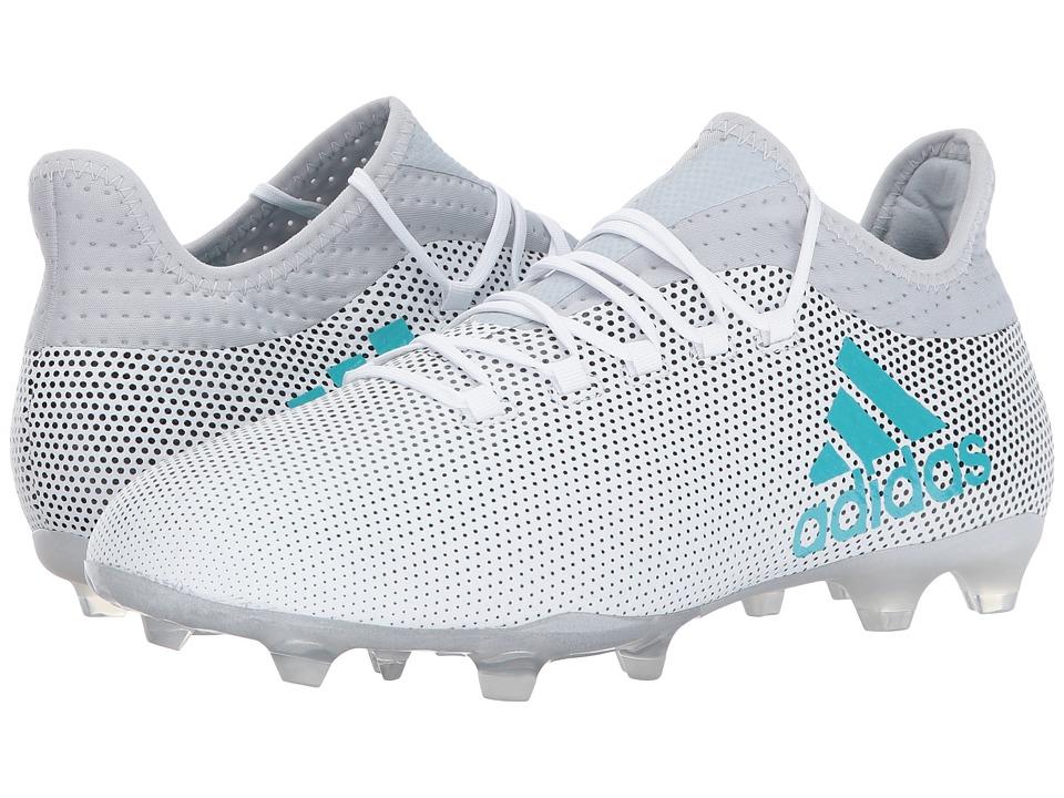 adidas X 17.2 FG (Footwear White/Energy Blue/Clear Grey) Men