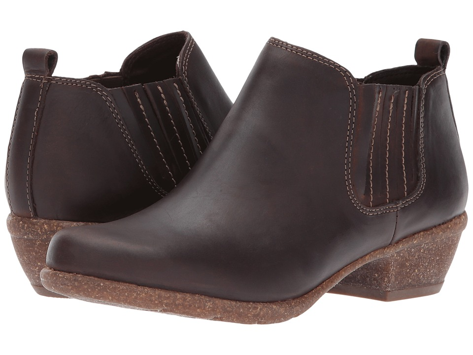 Clarks Wilrose Jade (Brown Nubuck) 1-2 inch heel Shoes