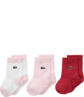 Lacoste Kids - Layette 3-Pack Socks (Infant)
