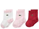Lacoste Kids - Layette 3-Pack Socks (Infant)