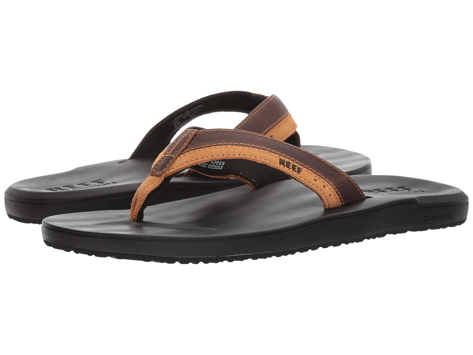 Reef Contour Cushion LE (Black/Brown) Men