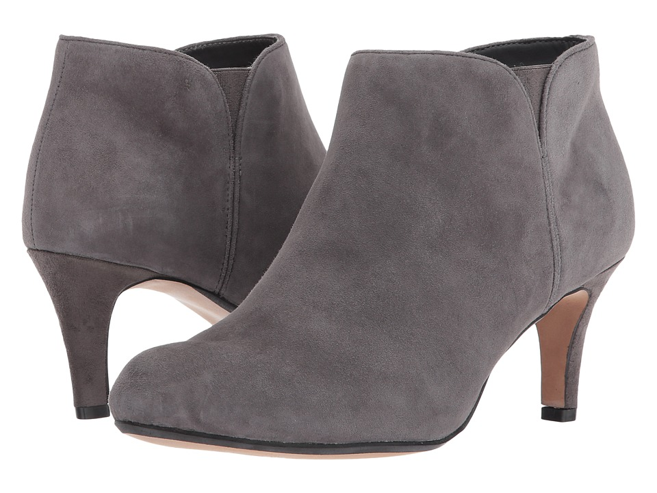 Clarks Arista Paige (Grey Suede) Women