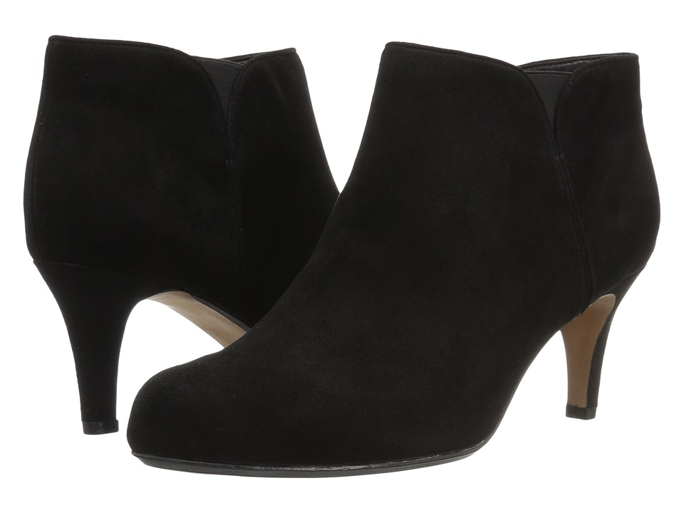 Clarks Arista Paige (Black Suede) Women