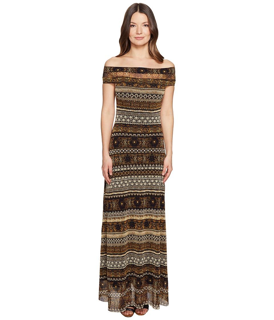 FUZZI - Long Stripe Dress