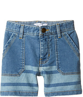 Little Marc Jacobs - Denim Effect Shorts (Toddler/Little Kids)