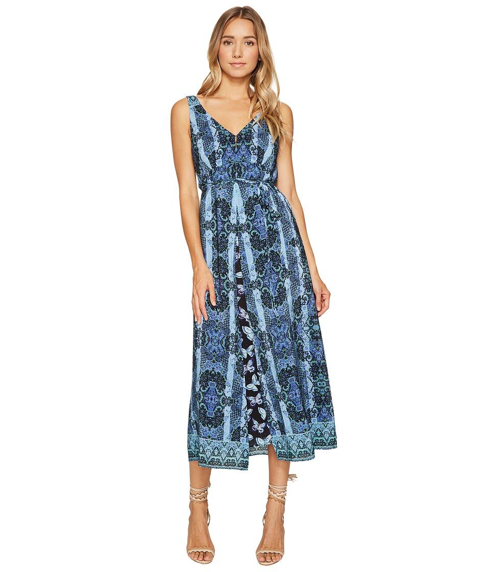 Nanette Lepore Windswept Dress (Black Multi) Women
