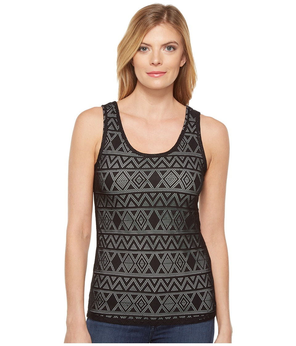 Cruel - Long Lean Tank Top Tribal Lace