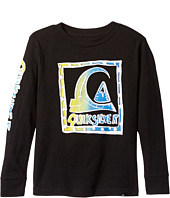 Quiksilver Kids - Logoalolo Long Sleeve (Toddler/Little Kids)