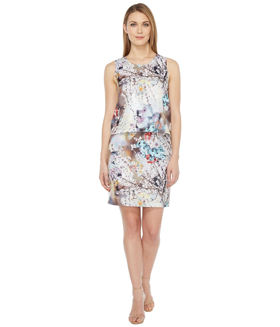 rsvp Mica Printed Dress with Back Detail (Floral Multi) Women