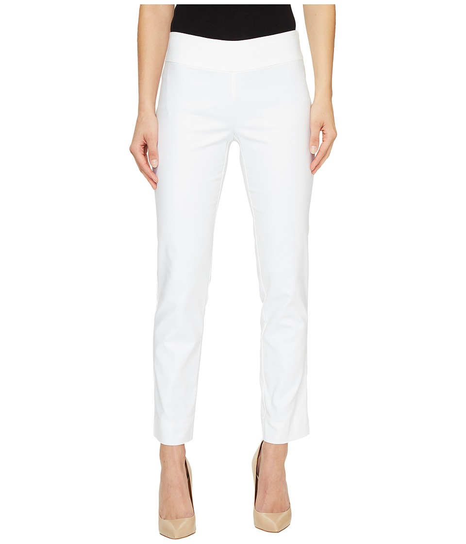 Nic+Zoe The Perfect Pants Modern Slim Ankle (Paper White)...