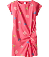 Little Marc Jacobs - All Over Printed Dress with Knotted Detail (Little Kids/Big Kids)
