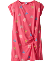 Little Marc Jacobs - All Over Printed Dress with Knotted Detail (Big Kids)