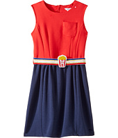 Little Marc Jacobs - Milano Pop Corn Belt Dress (Little Kids/Big Kids)