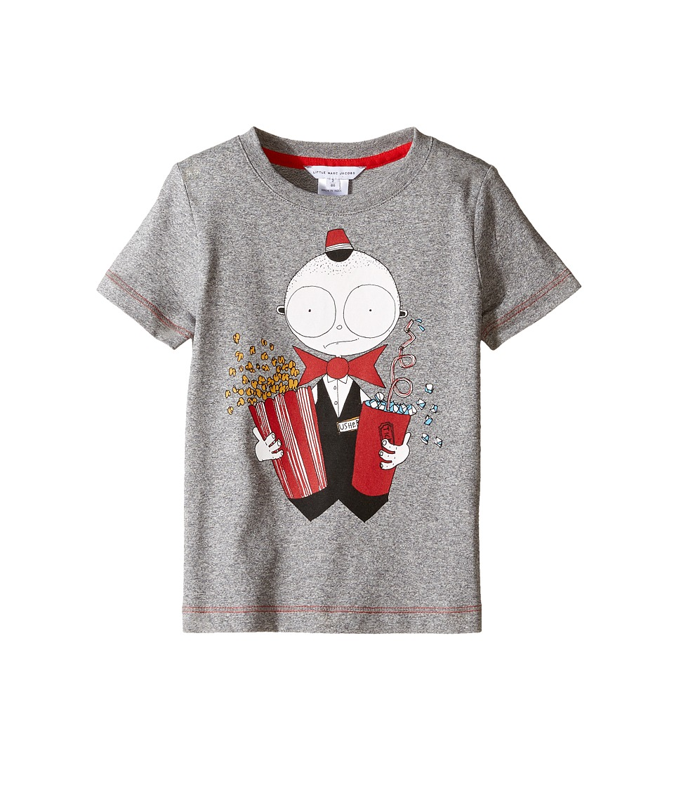 Little Marc Jacobs - Essential Mister Short Sleeve Tee Shirt