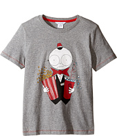 Little Marc Jacobs - Essential Mister Short Sleeve Tee Shirt (Little Kids/Big Kids)