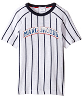 Little Marc Jacobs - Mariniere Short Sleeve Tee Shirt (Little Kids/Big Kids)