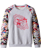 Kenzo Kids - Bellissima Sweatshirt (Big Kids)
