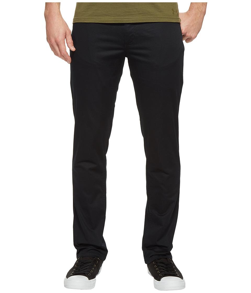 Kenneth Cole Sportswear - Slim Sateen Five-Pocket Pants