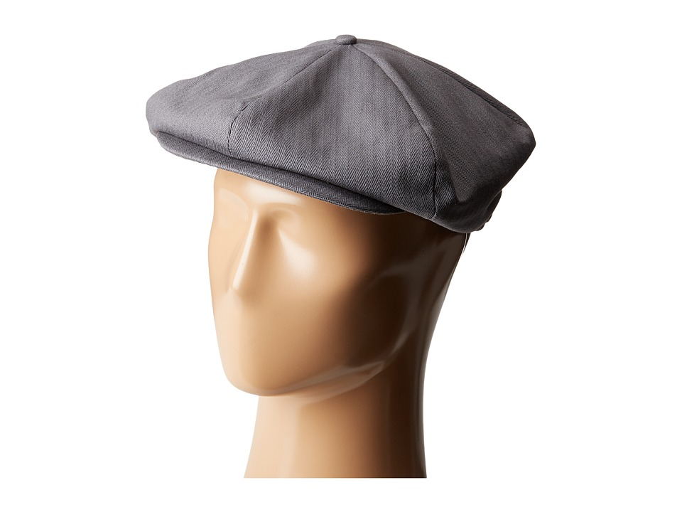 1940s Style Mens Hats Brixton - Ollie Cap Grey Caps $27.99 AT vintagedancer.com