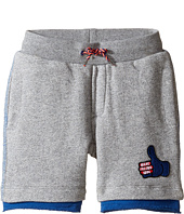 Little Marc Jacobs - Joggings Style Shorts (Toddler/Little Kids)