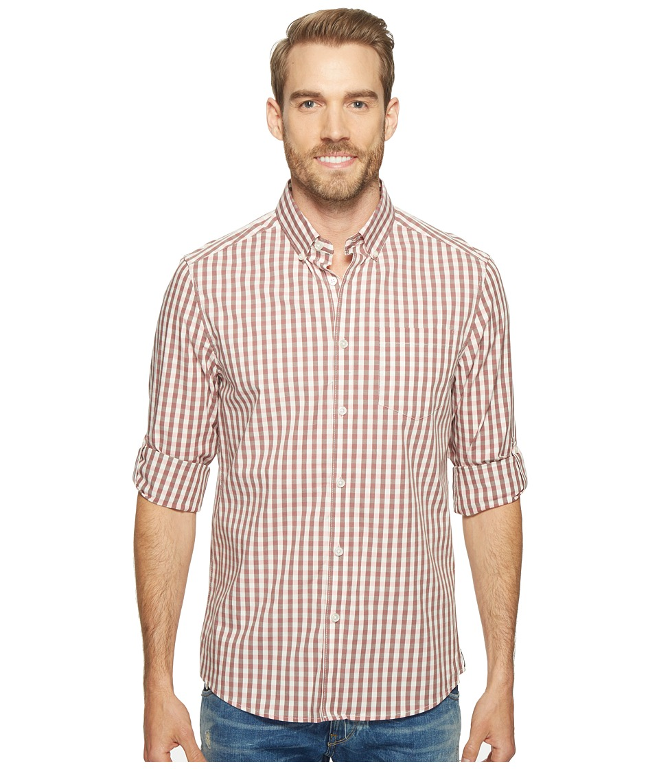 Kenneth Cole Sportswear - Long Sleeve Irridescent Check Shirt