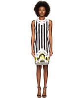Versace Collection - Sleeveless Striped Dress